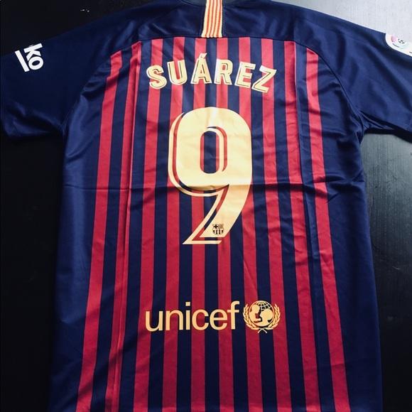 6b1e4590978 Nike Luis Suarez FC Barcelona Jersey. M 5b3ffa4e8ad2f99f8da0dd63